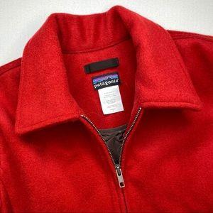 Vintage Patagonia Red Wool Blended Coat